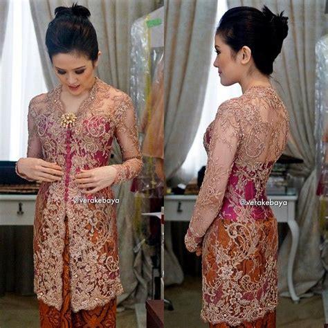 Henna Marun Dress Lace Gaun Pesta Manusia vera kebaya kebaya baju kurung lace kebaya and ps