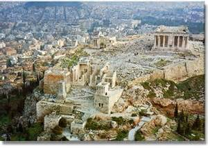 Archaeological sites in athens