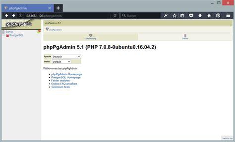 windows reset postgres password how to install postgresql and phppgadmin on ubuntu 16 04