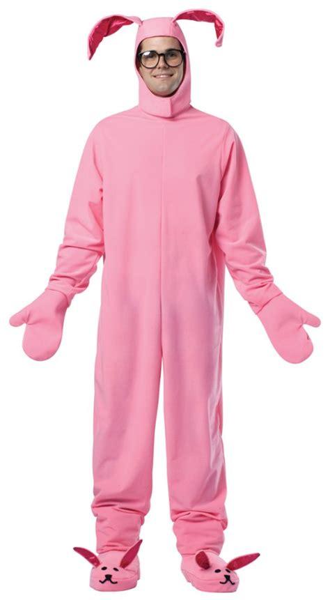 Dress Pajamas Bunny a story bunny suit costume pink pajamas ralphie rabbit licensed ebay