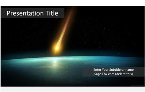 space powerpoint template free space powerpoint template 5921 sagefox powerpoint