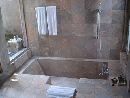Mba Shower by Sunken Bathtub Shower Mba Future House Inspiration