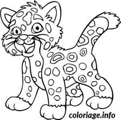 imagenes de bebe jaguar para colorear coloriage bebe jaguar dessin
