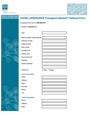 cigna emergency room cigna lifesource fill printable fillable blank pdffiller