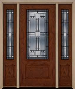 Front Entry Door With Sidelites Fiberglass Exterior Front Entry Door Two Sidelites Entry Door