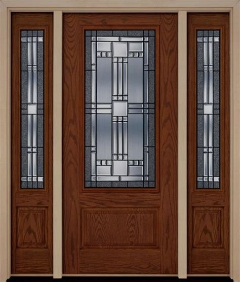 Exterior Doors With Sidelites Home Entrance Door Front Doors