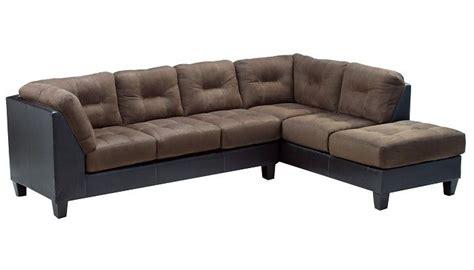 Slumberland Sofa by Slumberland Furniture Raymond Collection Walnut Right