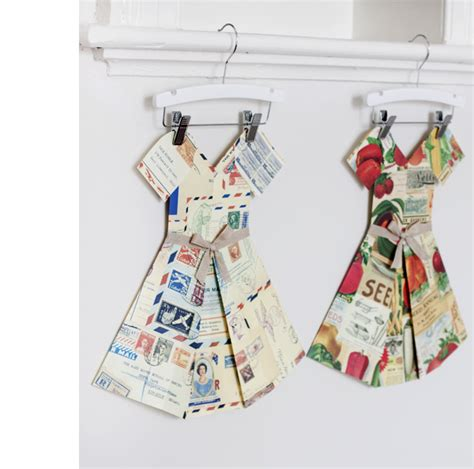 Folded Paper Dress - marcelle crosby 183 folded paper dresses the design files