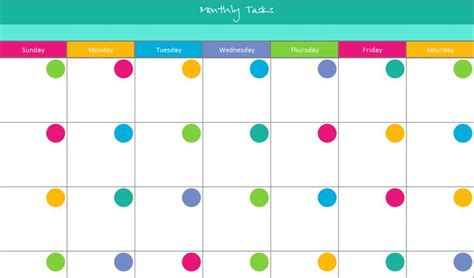 monthly calendar customizable calendar template 2016