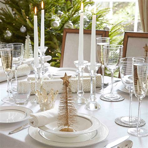 classic white and gold christmas table ideas 10 of the