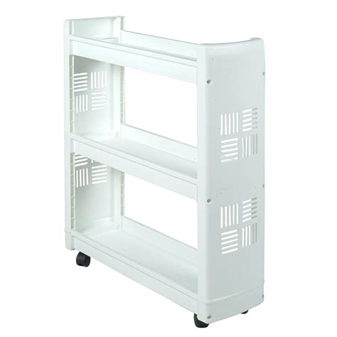 Laundry Supplies Rolling Cart Storage Organizer Bins Laundry Room Storage Cart