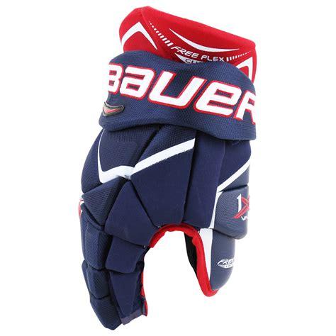 Overall Maroon Sr bauer vapor 1x sr hockey gloves