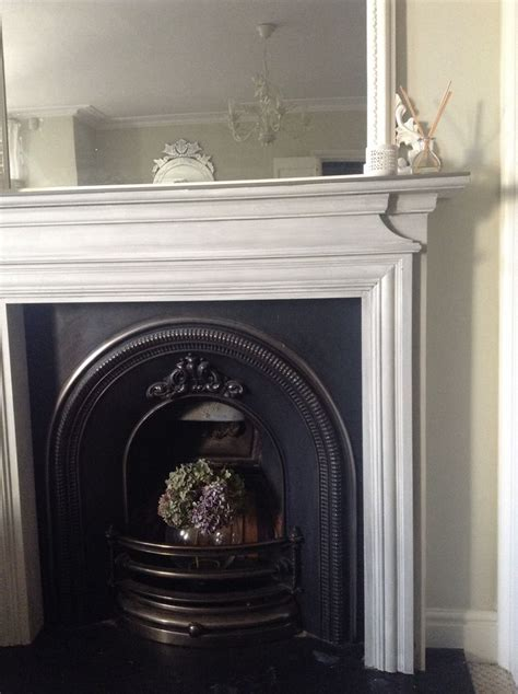 chalk paint fireplace fireplace makeover in sloan chalk paint undercoat