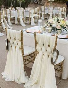 Seat Covers For Wedding Reception 25 Best Ideas About Wedding Chair Decorations On
