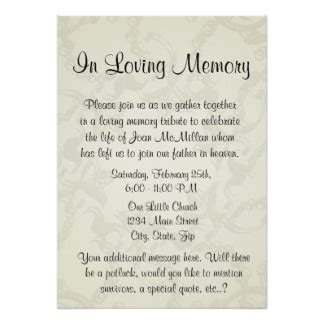 free funeral invitation card template ideas funeral invitation card memorial wings