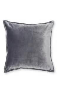 Primark Cushion A Best Looking Charcoal Velvet Cushion For Enhancing Your