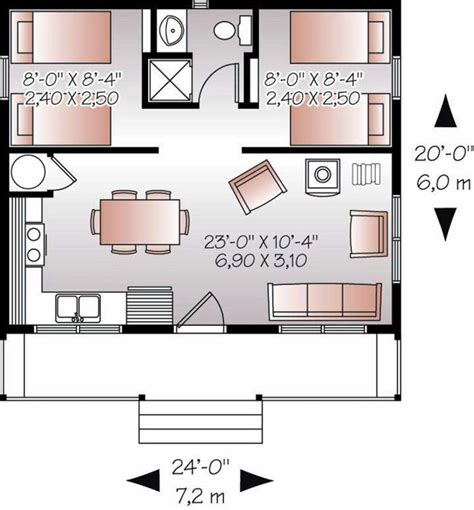 house design and floor plan for small spaces small footprint house plans the ideal compromise