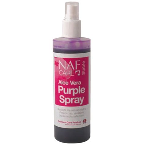 Sprei Purple naf aloe vera purple spray 200ml disinfects and supports the healing for the outdoor