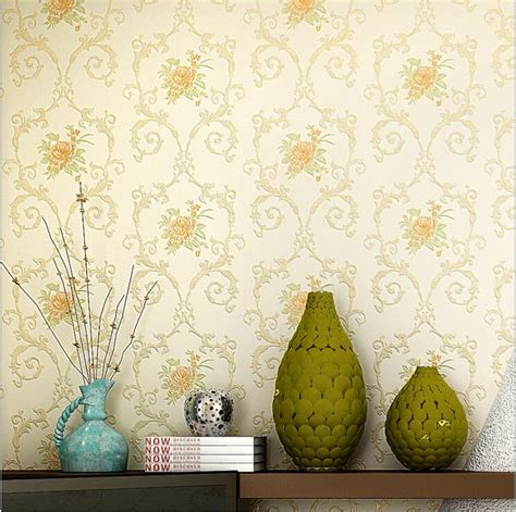 home decor tv wall pastoral style wallpaper aliexpress com buy pastoral european style non woven