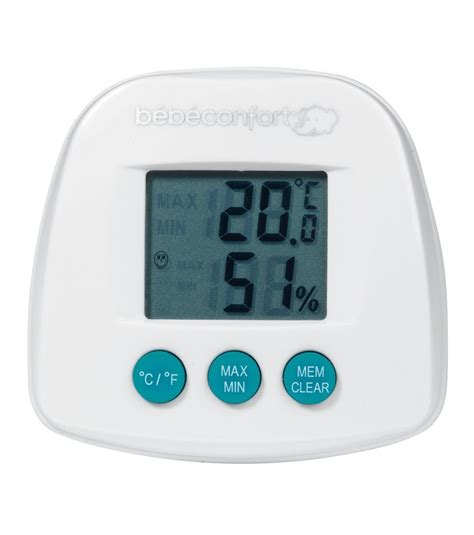 thermometre de chambre thermom 232 tre hygrom 232 tre bebe confort avis