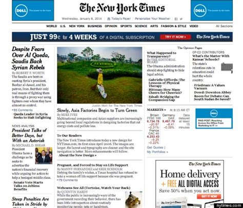 ny times home page driverlayer search engine