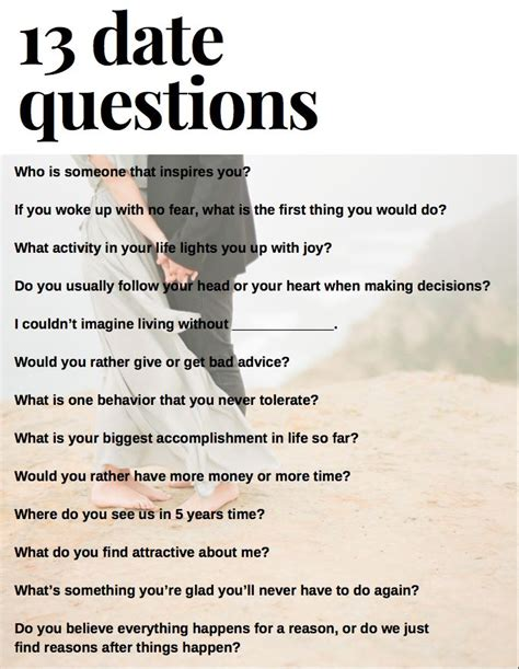 Or Question To Ask Your Boyfriend 17 Best Ideas About Date Questions On Relationship Wedding