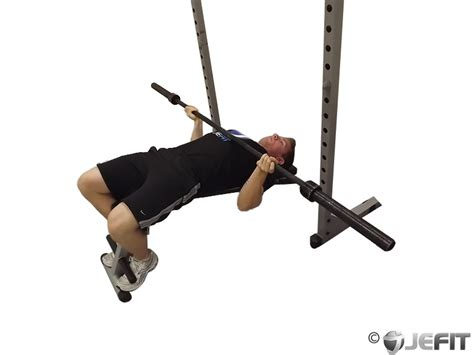 reverse bench barbell reverse grip decline bench press exercise
