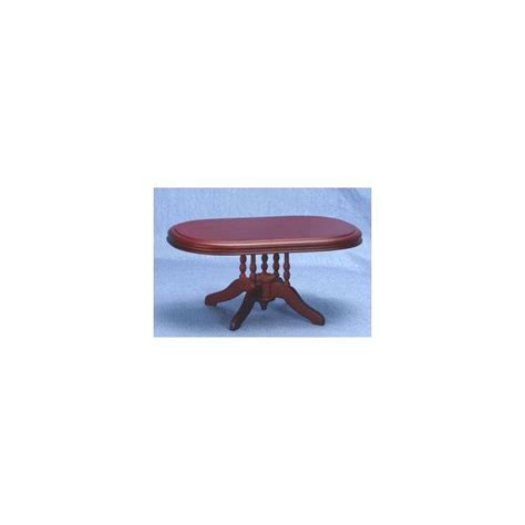 Mahogany Oval Dining Table Mahogany Oval Dining Room Table Miniature Dining Room