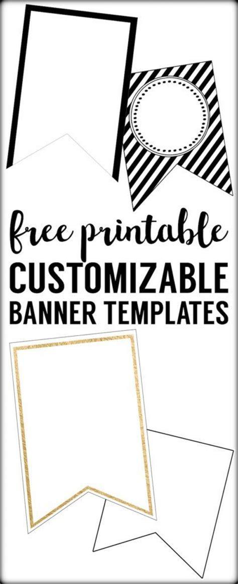 best 25 pennant banner template ideas on pinterest diy