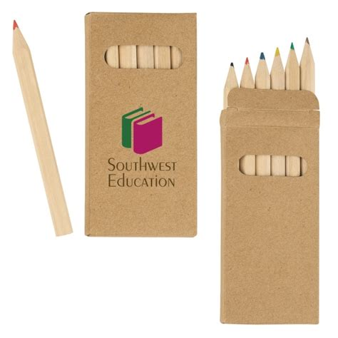 colored pencil set 6 colored pencil set everythingbranded
