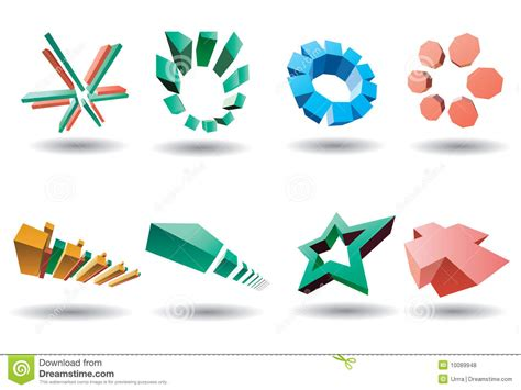 stock photos royalty free images and vectors vector logo set stock vector image of black shape