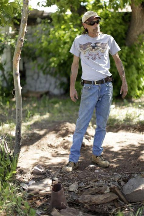 backyard artillery man digging in backyard finds wwi artillery shell local