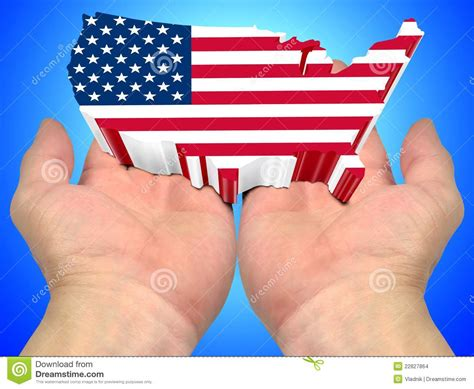 palm reading for millennials flags usa flag on the palms of the stock images image