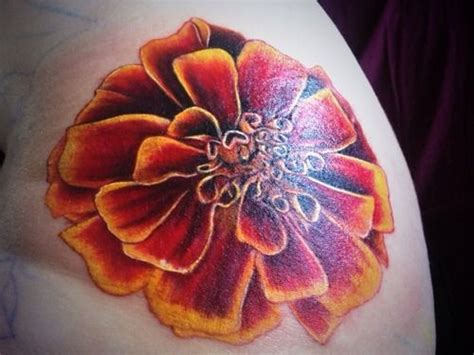 marigold tattoo designs pictures marigold tattoos search ideas