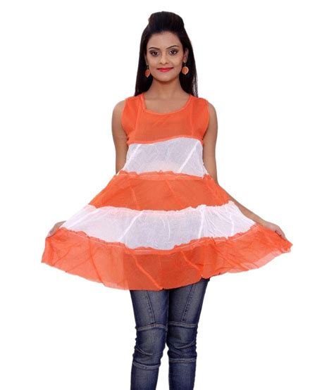 30950 Cotton Dress Black Size Sml buy sml originals orange cotton dresses at best prices in india snapdeal