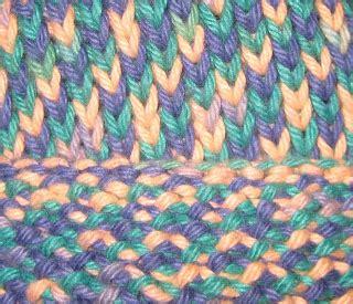 knitting abbreviations k1b chemknits knit one below k1b baby hat