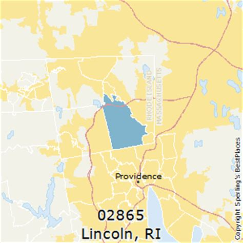 lincoln rhode island map best places to live in lincoln zip 02865 rhode island