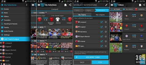 live sports for android top 10 sports app for android blogrope