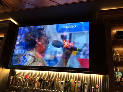 pour house oak brook the enormous screen tv yelp