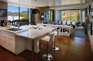 Open Floor Plan Kitchen Ideas Offene Wohnk 252 Che Modern Gestalten Trennen Ideen F 252 R Die Einrichtung