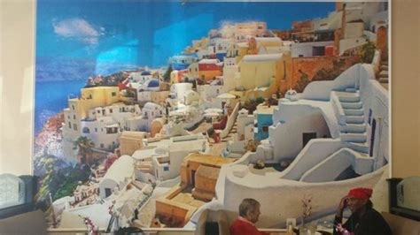 Wall Murals Greece Wall Mural Of Santorini Greece At Opa Opa Picture Of