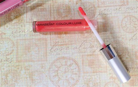 Lip Liner Mirabella let s get glossy mirabella colour luxe lip gloss just tiki