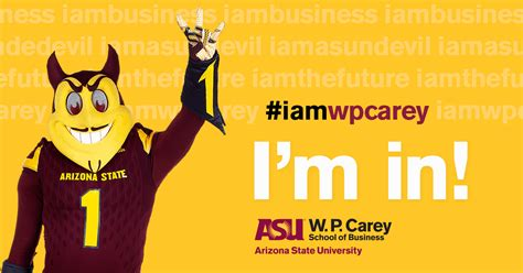 asu school undergraduate programs w p carey school of business