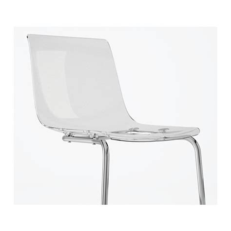 Tobias Chair by Tobias Chair Transparent Chrome Plated