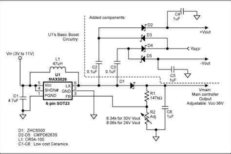 Fa5304 Bipolar Ic For Switching Power Supply tracking power supply has dual outputs application note maxim