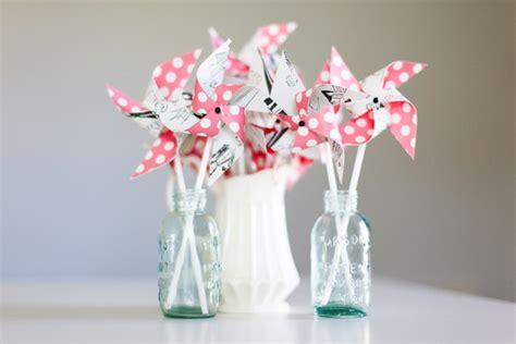 bridal shower centerpiece giveaway ajala s pinwheel centerpieces for bridal showers 3