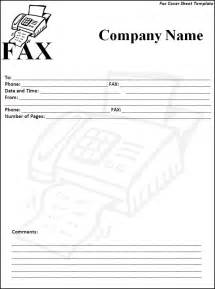 fax coversheet template 6 fax cover sheet templates excel pdf formats