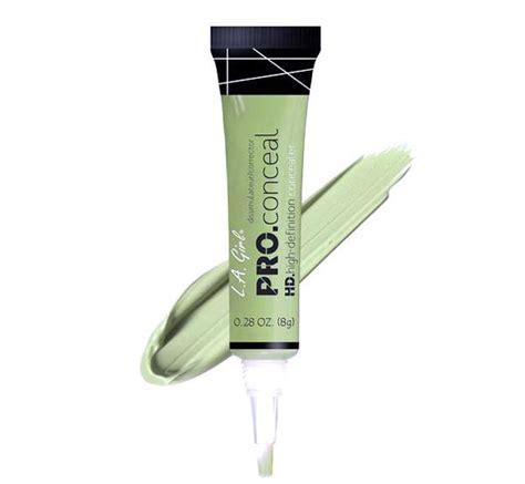 La Pro Concealer Green Corrector la pro conceal hd concealer glam