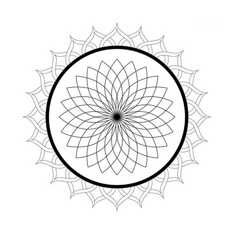 spiral mandala coloring pages printable spiral mandala coloring page mandala coloring