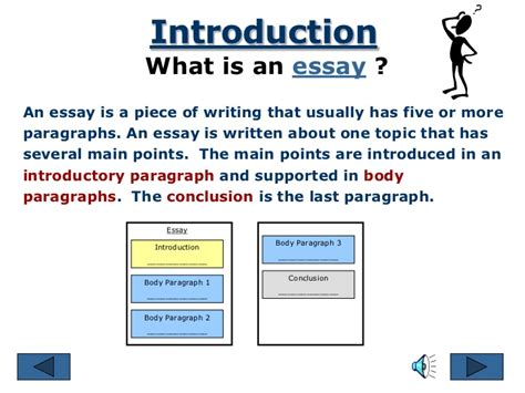 what is the thesis parts of an essay